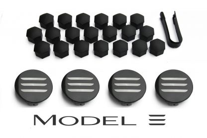 Model 3 Aero Wheel Cap Kit Complete