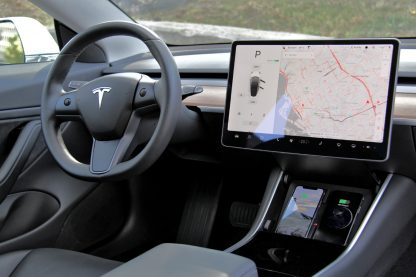 Model 3 Wireless Phone Charger Pad Zoomed Out
