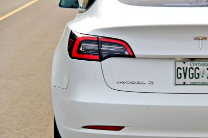 Model 3 Badge Emblem Chrome Trunk