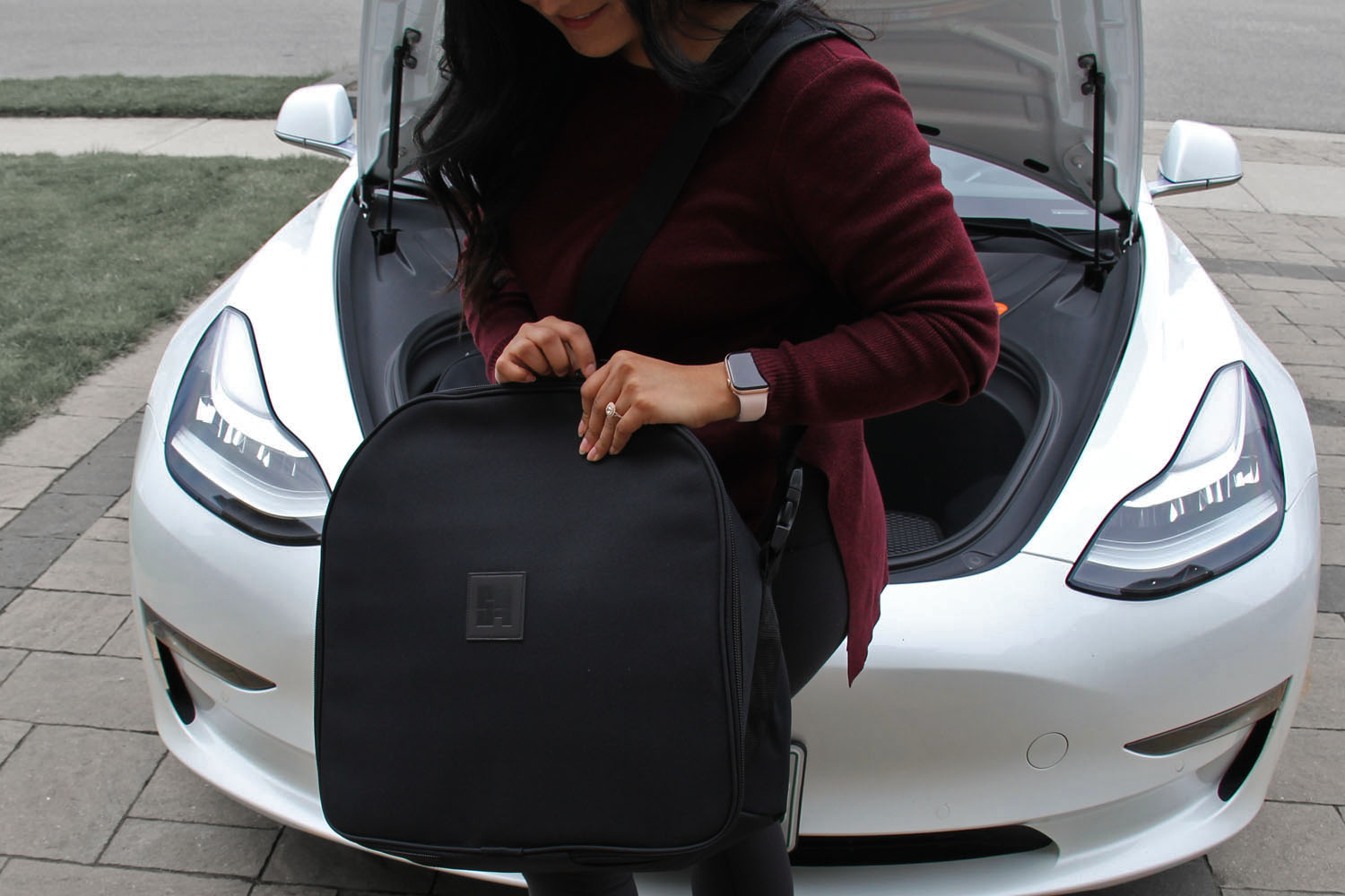 Model 3 luggage bag weekend trip bag