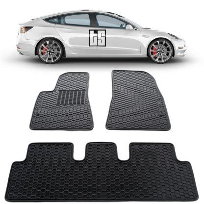 Model 3 Floor Mats High Performance Cover