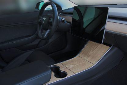 Model 3 Console Wrap Modern Wood
