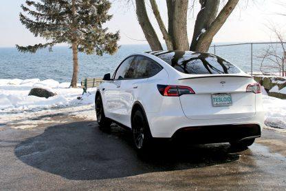 Model Y Spoiler Carbon Fiber