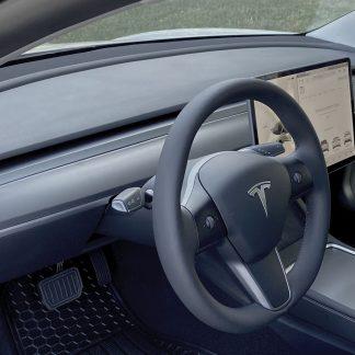 Tesla Dash Cover Matte Gray
